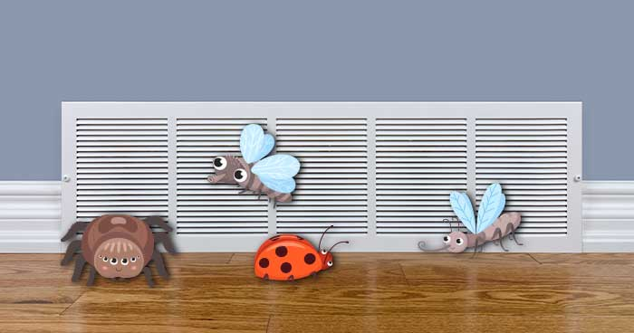 MHS ACBugs 01 - How to Prevent Bugs from Coming Through the Air Conditioner
